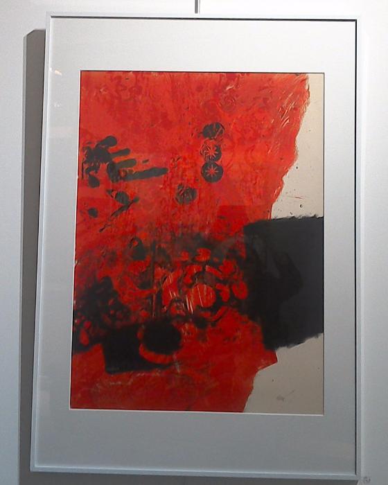 Galerie d 39 art artives rodez clave antoni for Affiche pierre soulages