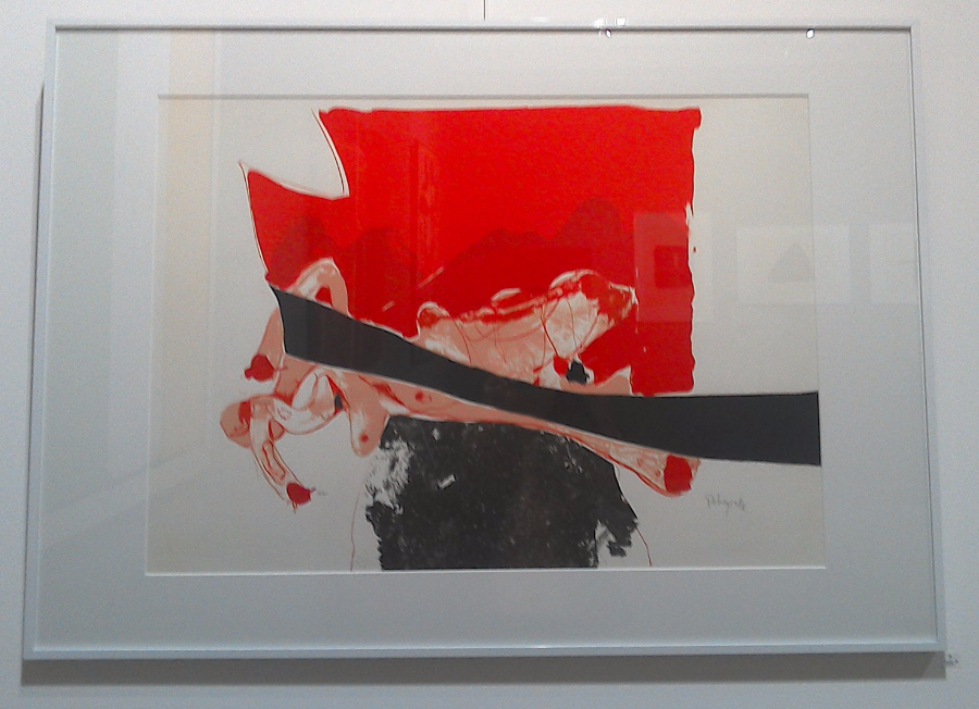 Galerie d 39 art artives rodez rebeyrolle paul for Affiche pierre soulages